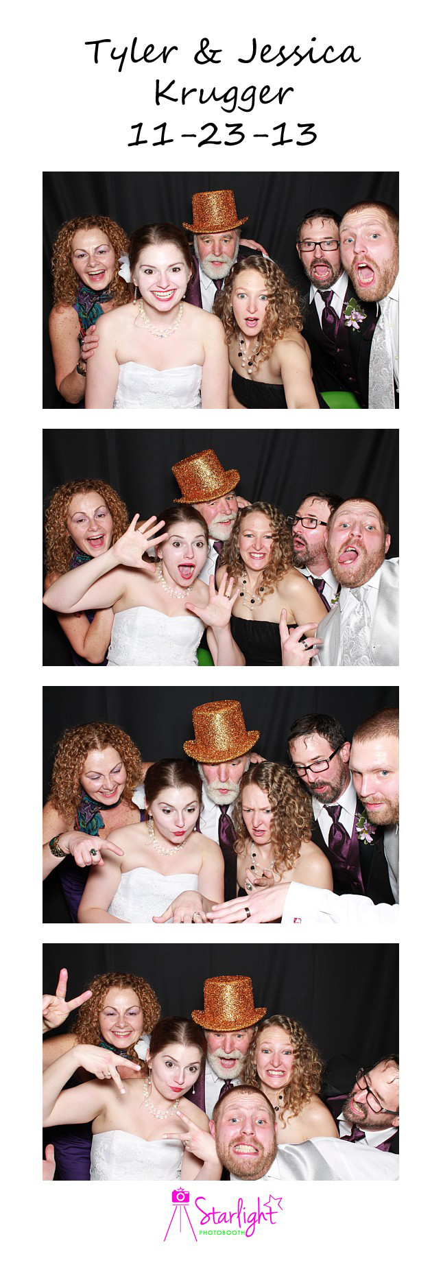 Starlight Photo Booth Erie PA Photo Strip